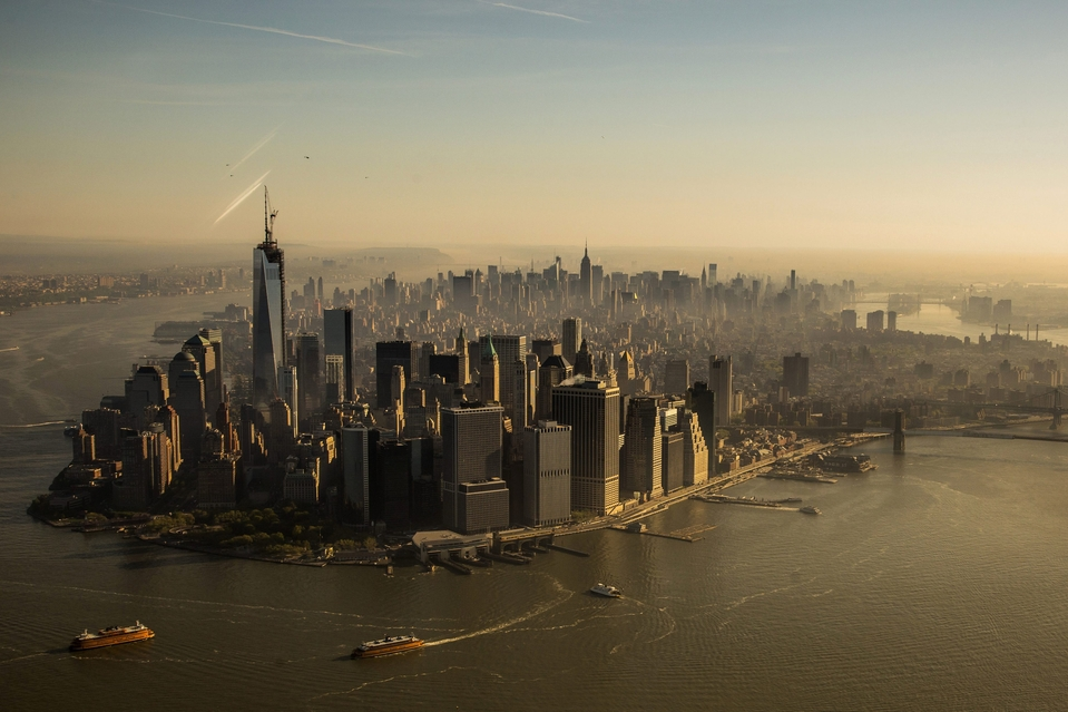 New York skyline as of today